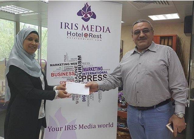فلسطيني يفوز بجائزة موقع هوتل اند ريست