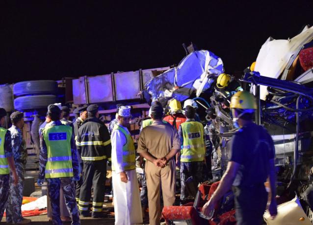4 سعوديين بين ضحايا حادث السير المروع بسلطنة عمان
