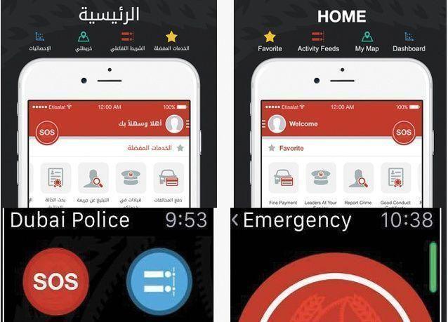 دبي : 21 ألف مخالفة عبر التطبيق الذكي في برنامج كلنا شرطة