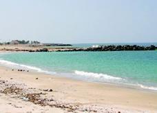 غرق سفينة تحمل ديزل في شواطئ إمارة أم القيوين