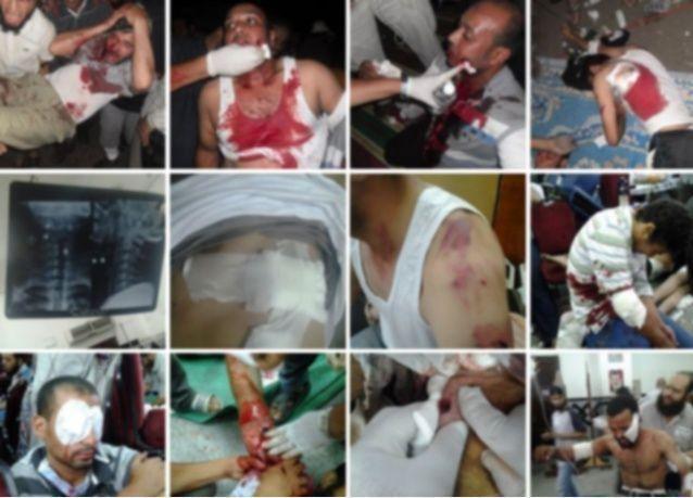 أكثر من 200 جثة متفحمة بمسجد في القاهرة