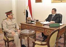 الجيش المصري يتدخل في الأزمة الدستورية بدعوته لحوار وطني
