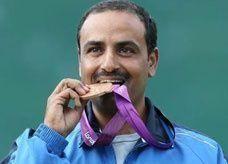 الكويتي الديحاني يحرز برونزية أطباق الحفرة في مسابقة الرماية الأولمبية