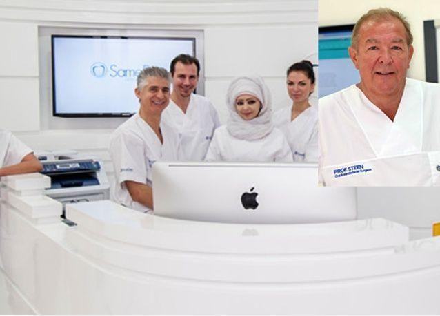 دبي: تعزيز فريق عيادة زراعة الأسنان في يوم واحد