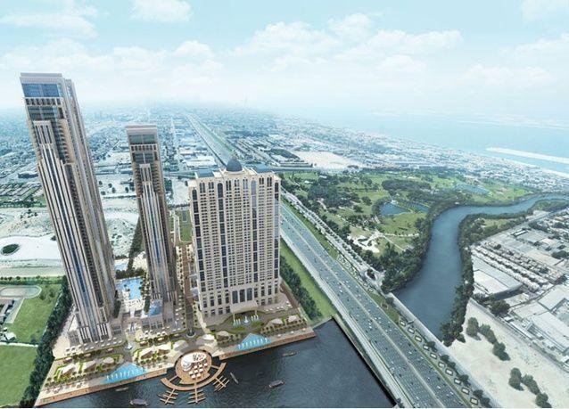 شاهد إطلالة الحبتور سيتي على قناة دبي المائية مع قرب انطلاقته نهاية العام