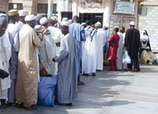 السعودية: تزاحم حجاج لشراء الهدى والأضاحي بالمدينة المنورة