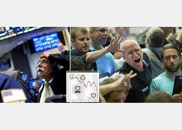 أسهم أوروبا تفقد نحو 450 مليار يورو بعد هبوط الأسواق الصينية