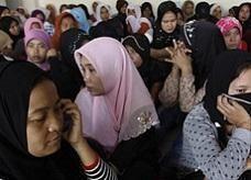 السعودية: رفع الحظر على العمالة الإندونيسية يناير المقبل