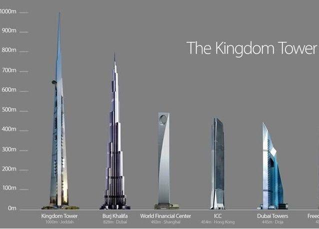 شركة جدة الاقتصادية: الانتهاء من إنشاء برج المملكة في 2018