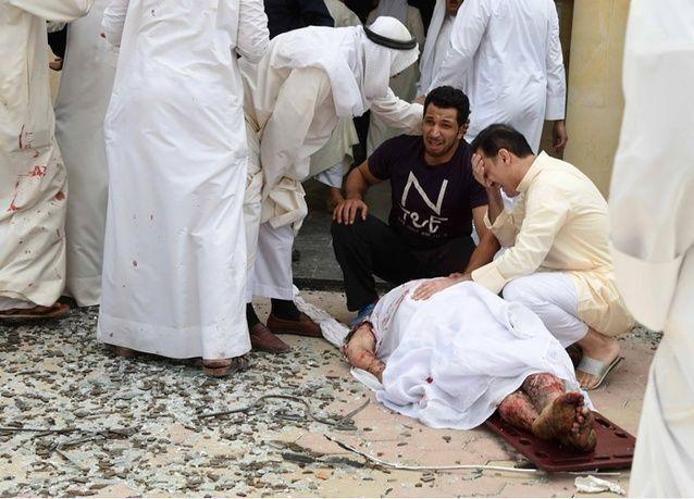 الكويت تلقي القبض على مشتبه بهم في انفجار المسجد وتعلن الحداد