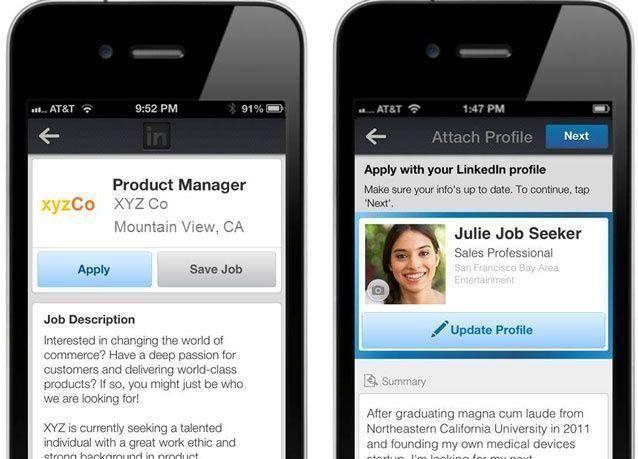 أسرع تقديم للوظائف: مباشرة من على هاتفك النقال