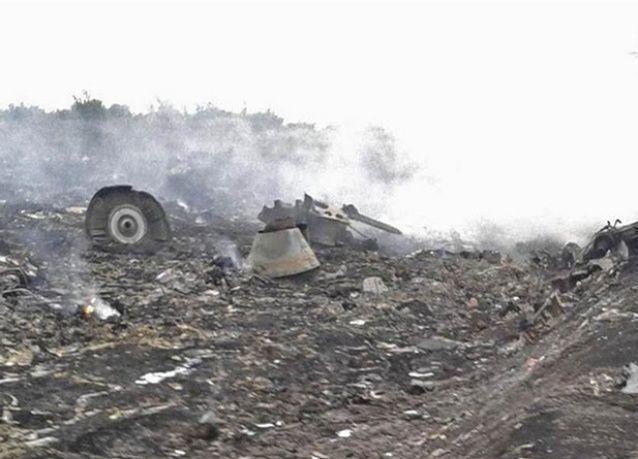 تحطم طائرة ماليزية قرب أوكرانيا على الحدود الروسية