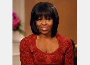 اوباما يبدى اعجابه بشعر زوجته