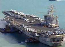 حاملة طائرات أميركية واحدة في الخليج