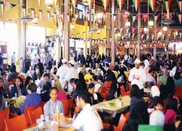 """الكويت : مليونا دينار ينفقها المستهلكون يومياً في """"المطاعم"""""""