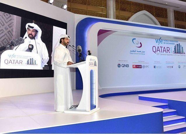 افتتاح الاجتماع السنوي للاتحاد الدولي للبورصات في قطر