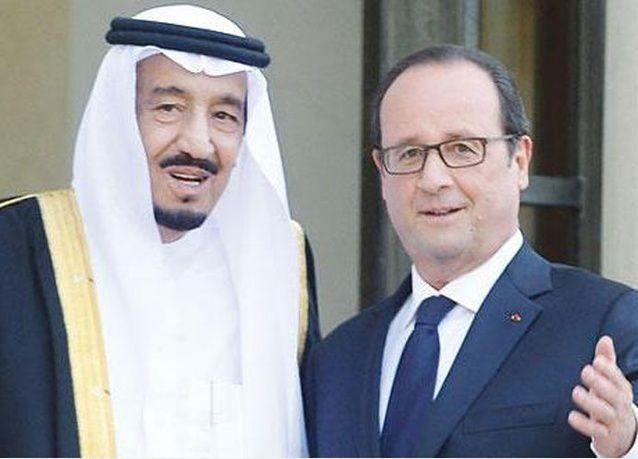 فرنسا والسعودية توقعان عقوداً بقيمة 45 مليار ريال