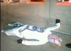 دمية على هيئة رجل منتحر تثير الفزع في السعودية