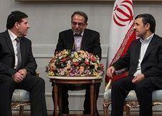 الحلقي يختتم زيارته لإيران حاملاً معه قرضاً بمليار دولار وعقوداً لنقل الطاقة الكهربائية