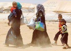 عدد النازحين السوريين إلى لبنان يتجاوز 716 ألفا