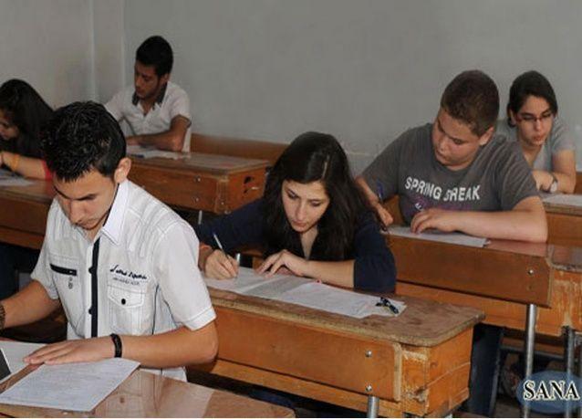 نتائج امتحانات الشهادة الثانوية 2014 في سوريا تصدر السبت