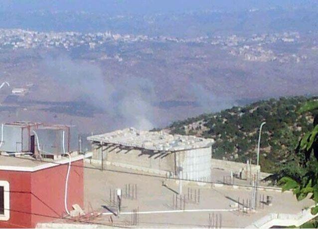 قصف مدفعي اسرائيلي على لبنان
