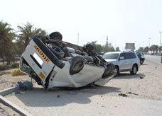 50 منطقة سوداء للحوادث المرورية في دبي