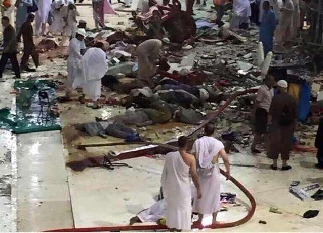 السعودية: 40 متهماً في حادثة سقوط رافعة الحرم