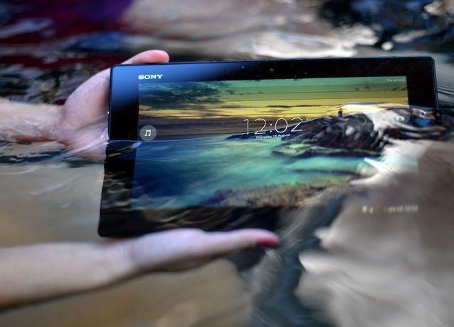 اخترنا لك: الجهاز اللوحي المقاوم للمياه Xperia Tablet Z