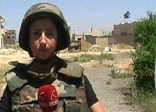 مقتل صحافية سورية معروفة في قناة تلفزيونية موالية.. قنصاً