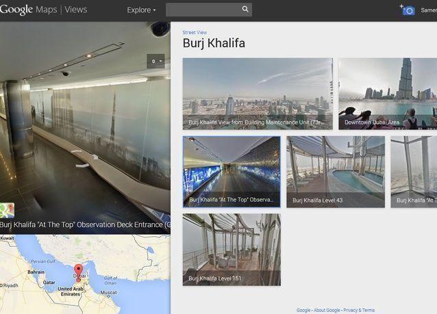 دبي، أول مدينة عربية تتوفر لشوارعها مناظر بانورامية على ستريت فيو من غوغل