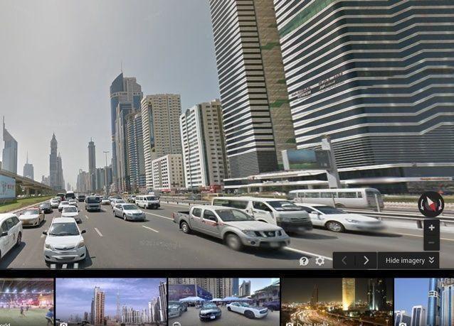 دبي أول مدينة عربية تتواجد في التصفح الافتراضي غوغل ستريت فيو