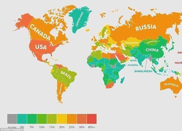 الكويت ضمن أكثر 10 دول معاناة من البدانة في العالم