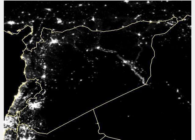 سوريا تعيش في ظلام شبه تام بسبب الحرب