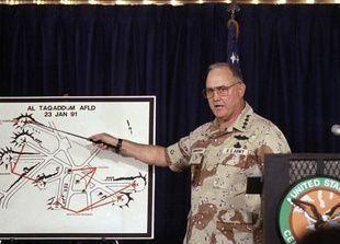 وفاة الجنرال الامريكي شوارزكوف قائد عملية عاصفة الصحراء