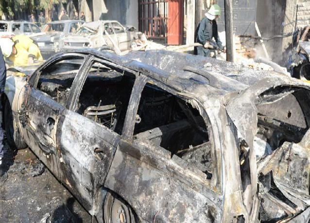تفجير انتحاري يهز المدينة القديمة بدمشق