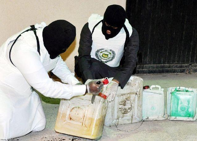 بالصور: حرب المخدرات في المملكة العربية السعودية
