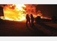 """حريق """"الجهراء"""" في الكويت كارثة بيئية وخسائر بالملايين"""