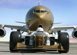 طيران الخليج تتيح مشاهدة سباقات الفورمولا ون على متن رحلاتها