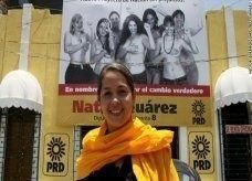 مرشحة مكسيكية تنافس في انتخابات برلمانية بصور عارية