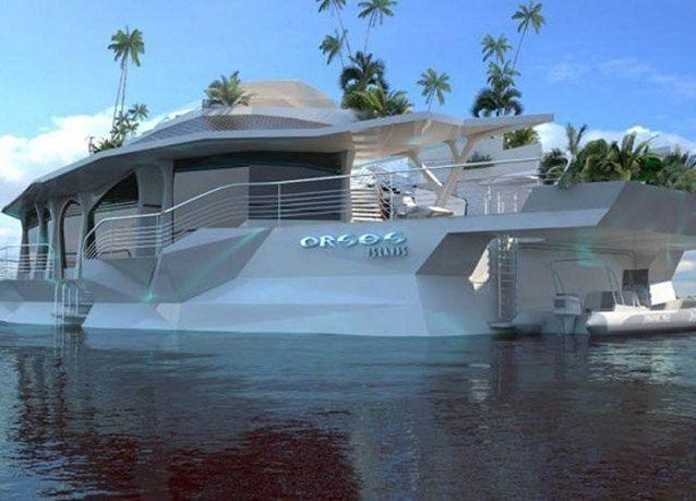بالصور: أول جزيرة اصطناعية عائمة بسعر 5.2 مليون يورو