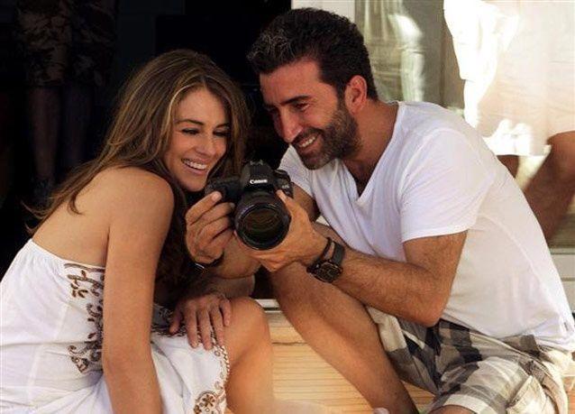 جلسة تصوير الممثلة وعارضة الأزياء العالمية اليزابيث هيرلي في تركيا
