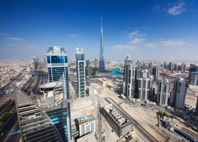 صور مميزة لمدينة دبي من ارتفاعات شاهقة