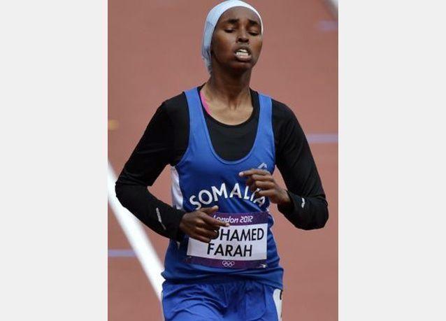 صور للاعبات عربيات ومسلمات يشاركن في أولمبياد لندن 2012