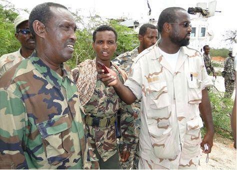 اعادة بناء قوات الجيش الصومالي