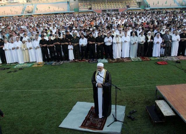 بالصور: صلاة العيد حول العالم