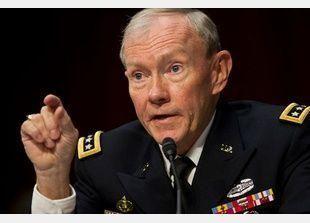 صاروخ يصيب طائرة رئيس هيئة الاركان الامريكي في افغانستان