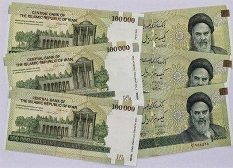 انخفاض الريال الايراني بنسبة 3.6 بالمئة مقابل الدولار