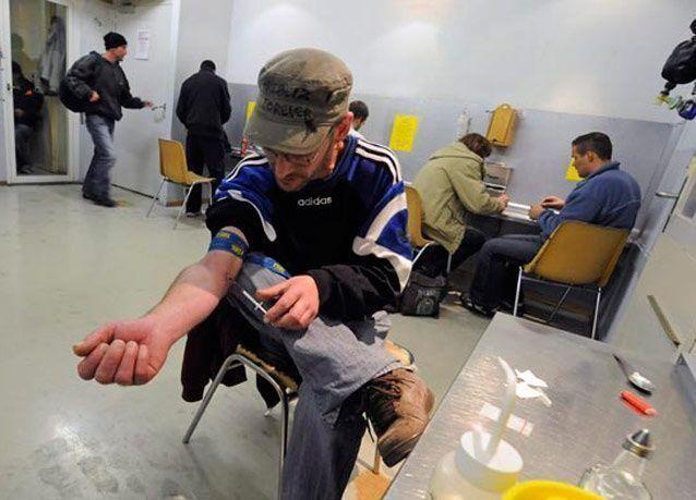 تحقيق مصوّر: أول مركز أوروبي لتعاطي المخدرات