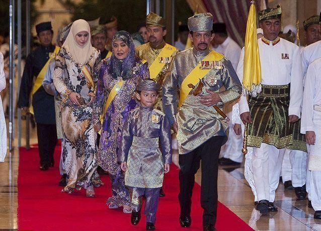 بالصور: حفل زفاف أسطوري لابنة سلطان بروناي أكثر الحكّام ثراء في العالم